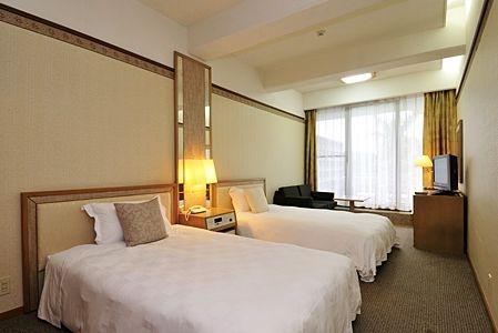 ホテルムーンビーチ客室例