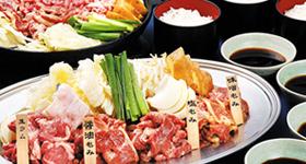 ジンギスカン食べ放題付!! 札幌セレクトプラン