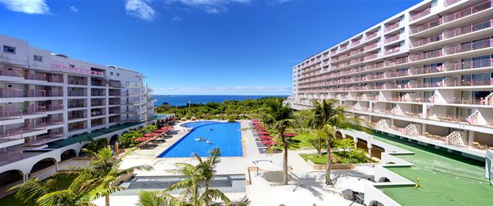 ホテルマハイナ ウェルネスリゾートオキナワの外観イメージ
