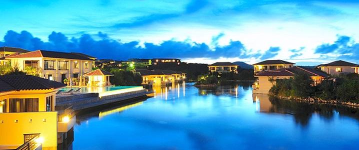 ホテルアラマンダ小浜島の外観イメージ