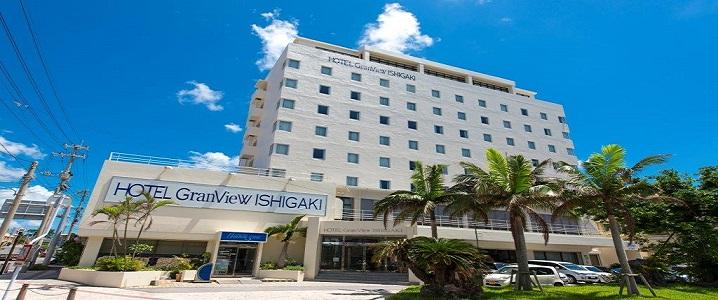 ホテルグランビュー石垣の外観イメージ