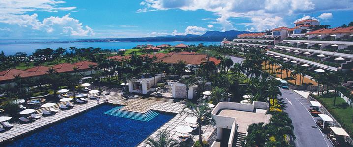 カヌチャベイホテル&ヴィラズの外観イメージ