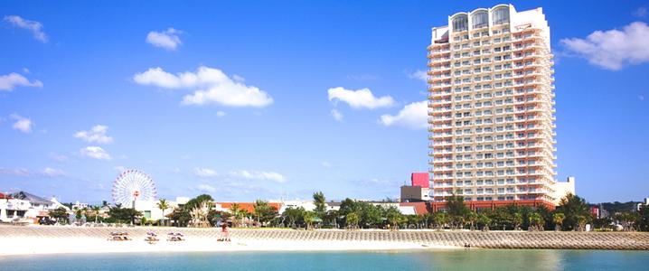 ザ・ビーチタワー沖縄 の外観イメージ