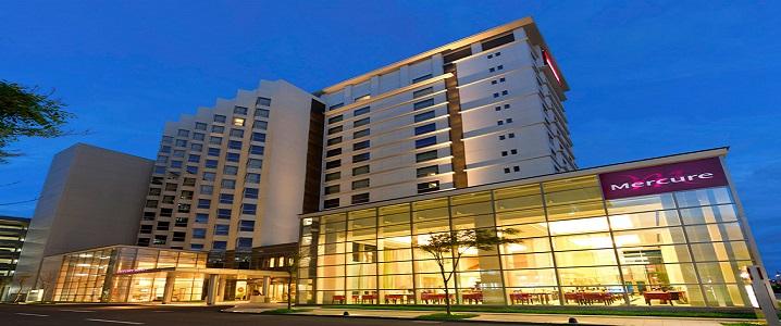 メルキュールホテル沖縄那覇の外観イメージ
