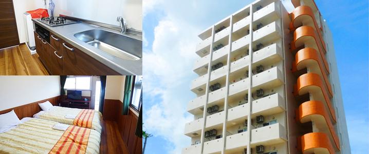 ホテルピースリーイン宮古島 NEXUSの外観イメージ