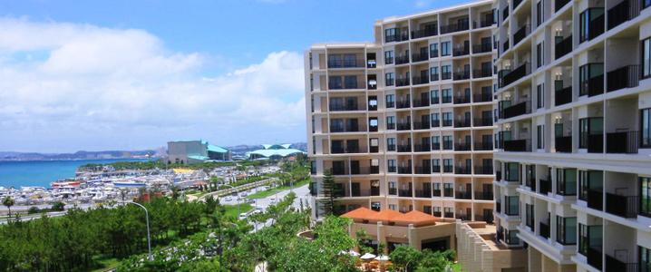 ムーンオーシャン宜野湾 ホテル&レジデンスの外観イメージ