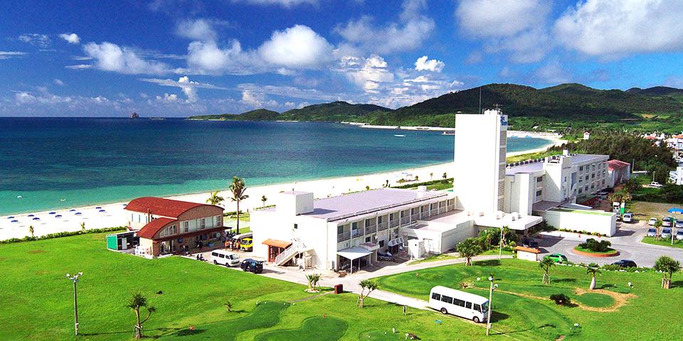 久米島イーフビーチホテルの外観イメージ