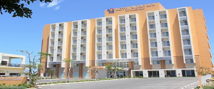 ホテルライジングサン宮古島の外観イメージ
