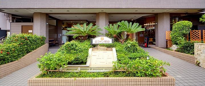 ロコイン松山の外観イメージ