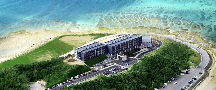 琉球温泉瀬長島ホテルの外観イメージ