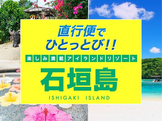 直行便でひとっ飛び!石垣島
