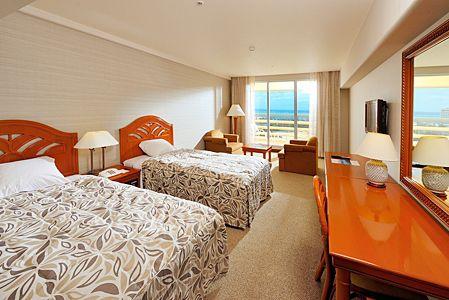 リザンシーパークホテル谷茶ベイ客室例