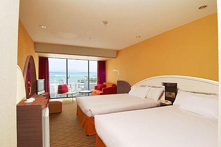 シェラトン沖縄サンマリーナリゾート客室例