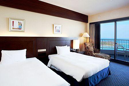 沖縄かりゆしビーチリゾート・オーシャンスパ客室例