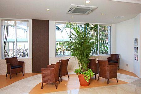 ホテルグランビュー沖縄 ロビー