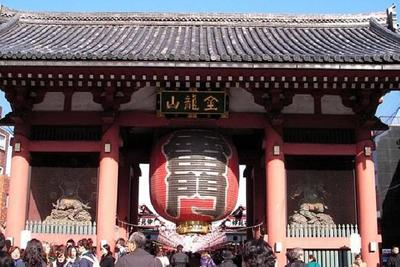 浅草寺(雷門)