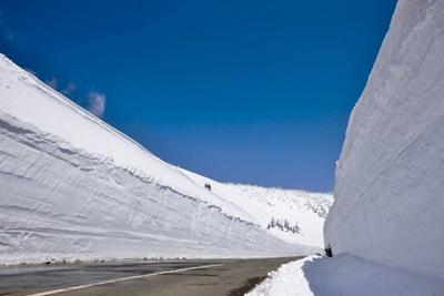 八幡平雪の回廊(車窓)