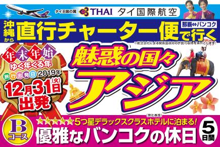 【12/31出発】直行チャーター便で行く(Bコース)