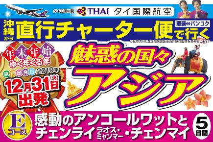 【12/31出発】直行チャーター便で行く(Eコース)