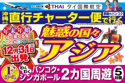 【12/31出発】直行チャーター便で行く(Fコース)