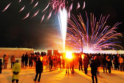第42回 阿寒湖氷上フェスティバル