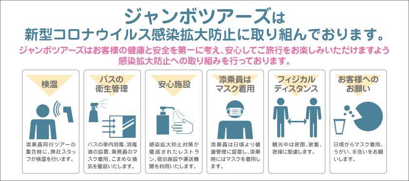 コロナウイルス感染拡大防止