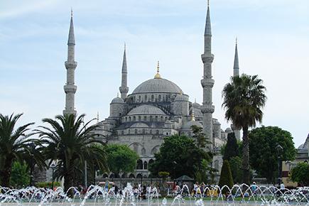《世界遺産》イスタンブール(ブルーモスク)