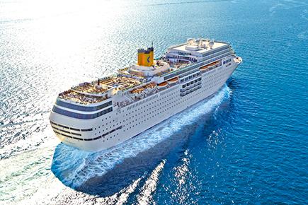 コスタ ネオロマンチカで航く! 夢のアジアクルーズ4日間