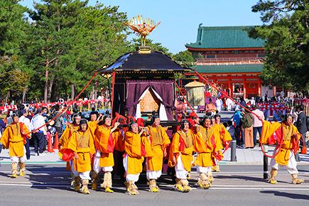 京都三大祭りのひとつ「時代祭」
