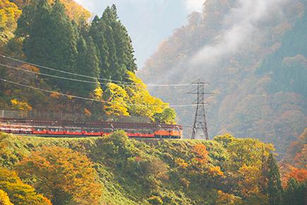 黒部峡谷トロッコ列車ご乗車・宇奈月駅
