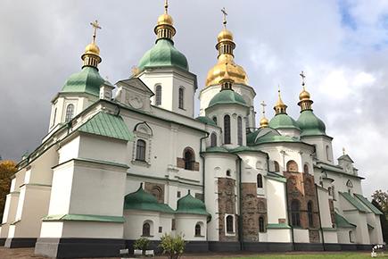 《世界遺産》聖ソフィア大聖堂