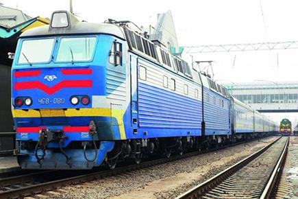 ウクライナ国鉄特急列車