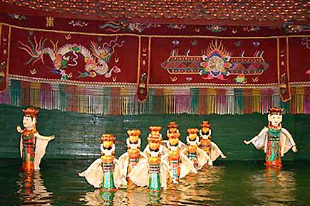 ベトナム伝統芸能水上人形劇