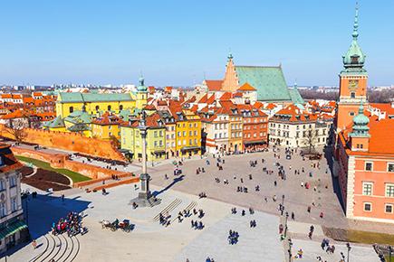 《世界遺産》ワルシャワ歴史地区
